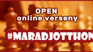 Photo of #maradjotthon Open online sakkverseny: érdemes még csatlakozni!